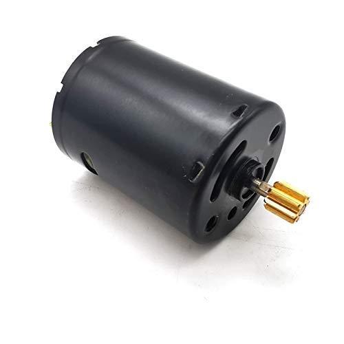 GzxLaY Nuevo RC Car 6V 370 Motor Cepillado Adecuado para WPL C14 C24 C34 B14 B24 B16 B36 1/16 RC Truck Car Upgrade Parts Accesorios Repuestos Accesorios ( Color : Black )