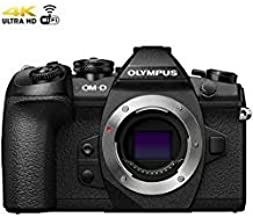 Olympus OM-D E-M1 Mark II 20.4MP Live MOS Mirrorless Digital Camera - Black (Body Only) V207060BU000 - (Renewed)