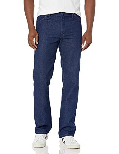Wrangler - Jeans da uomo stile cowboy, modello slim fit Indigo 32W x 30L (US Taglia)