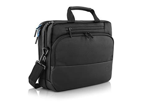 """Dell PO1520C, 15\"""" EcoLoop Premier Aktentasche, für umweltbewuste Nutzer, Notebooks bis max. 15.6 Zoll (39.62cm), EVApolsterung, laden in der Tasche möglich, Rollkoffergurt, reflektierend, Schwarz"""