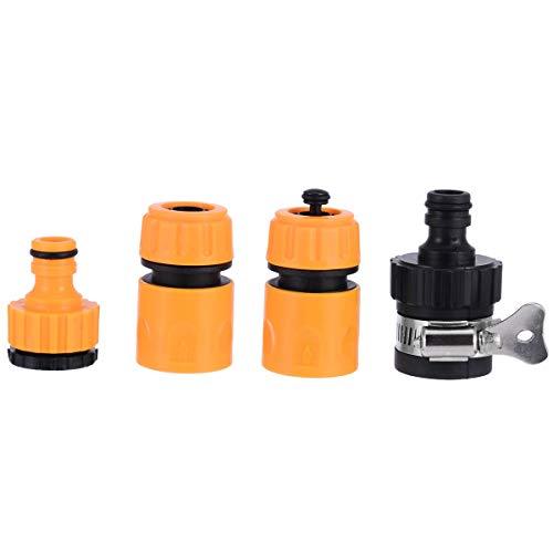 Botella de riego nasal, 4 unidades, conector de conexión para manguera de agua de jardín, adaptador de conexión para tuberías de agua, limpieza de coches, riego de jardín, sistema de riego nasal