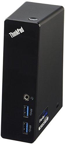 Lenovo ThinkPad USB 3.0 Docking Station (0A33970) (Renewed)