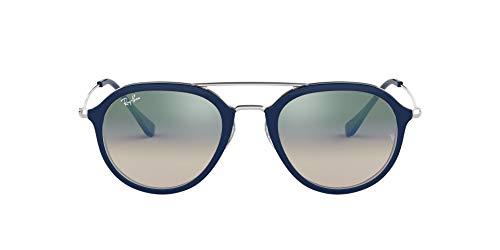 Ray-Ban 0rb4253 60533a 53 Gafas de Sol, Top Blue On Transparente, 52 Unisex