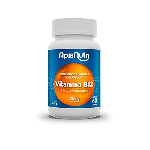 Apisnutri Suplemento de Vitamina B12, 60 Capsulas