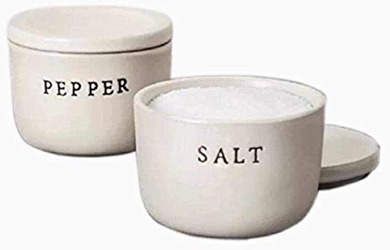 Hearth And Hand With Magnolia Salt Pepper Stoneware Cellar