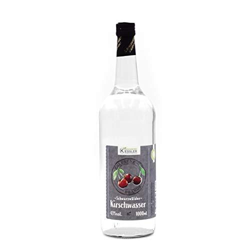 1 Liter Original Schwarzwälder Kirschwasser 43% vol. - Brennerei Keßler