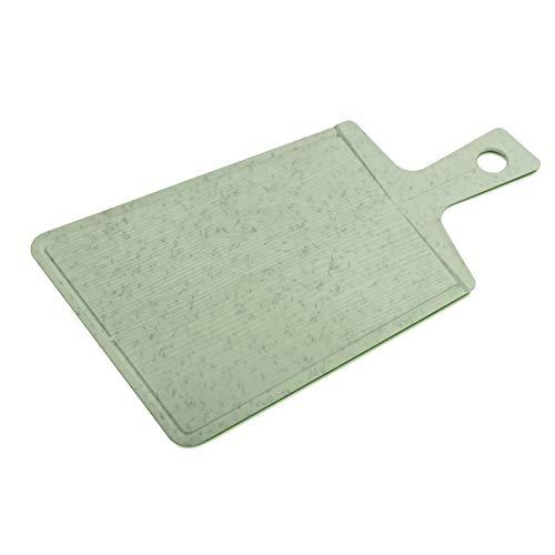 koziol Schneidebrett Snap 2.0, Kunststoff, organic green, 49.2 x 27.8 x 0.8 cm