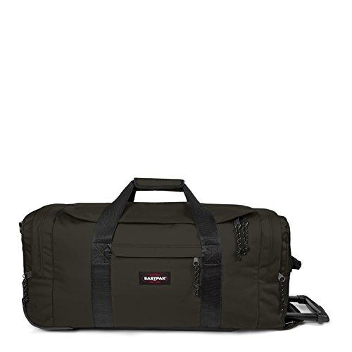 Eastpak Leatherface, Bagaglio con Ruote Unisex, Verde (Bush Khaki), 61 liters, M (68 centimeters)