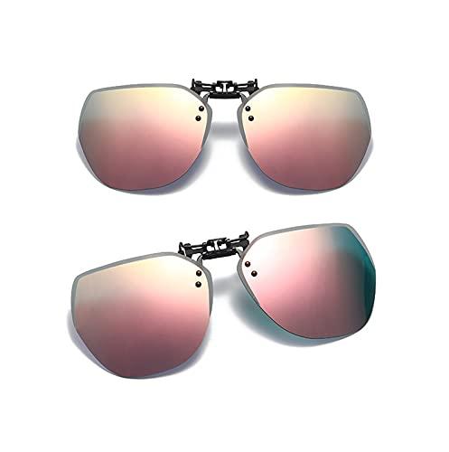 CUTEY Las Gafas De Sol Sin Montura Polarizadas Se Polarizan En Gafas De Prescripción,9,52MM*61MM
