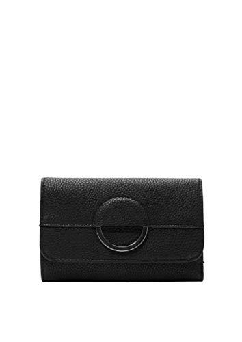 s.Oliver RED LABEL Damen Portemonnaie mit Deko-Ring black 1