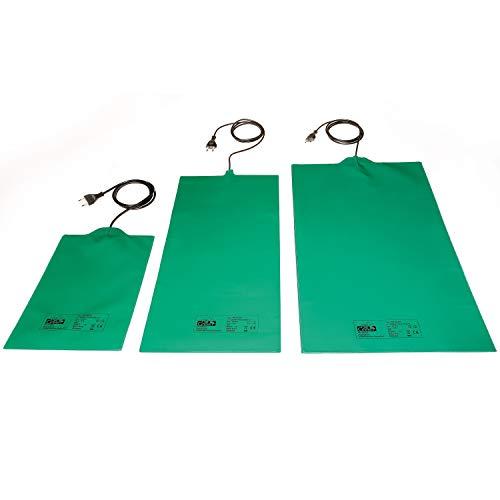 Bio Green Anzucht Wärmeplatte, grün, flexibel, 30 x 60 cm,