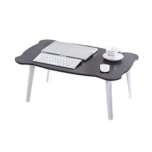 WYJW multifunctionele laptop bureau bed opklapbare draagbare tafel outdoor campingtafel, ontbijt lezen lade rack geschikt voor volwassenen/studenten/kinderen bank vloer (kleur: D)