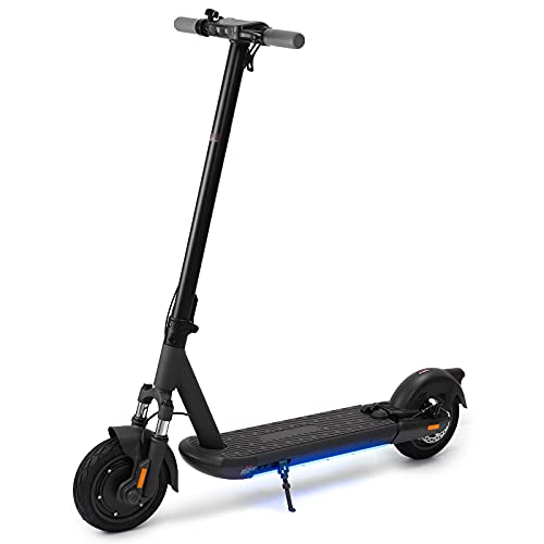 BESPORTBLE Electric Scooter Inflatable Tires Folding Scooter 10in L9 E- Scooter 500W