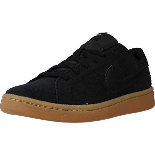 Nike Calzado Deportivo Mujer Court Royale 12 para Mujer Negro 37.5 EU