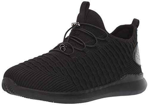Propet Women's TravelBound Sneaker, Black, 9.5 Narrow