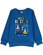 Camiseta de algodón estampada para niños.