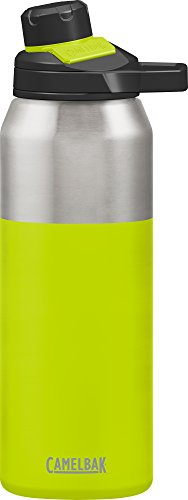 Camelbak Water Bottle CHUTE Mag Vacuum Stainless Steel Insulated Water Bottle, Green (Green), 32oz