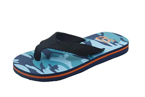powerful Starbay Camo Flip-Flops Sandals – Little_Kid, Navy Black, 1