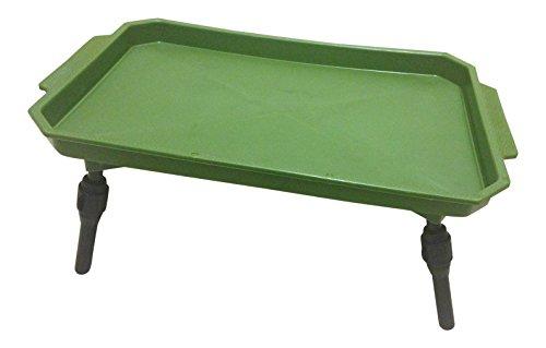Gloednieuwe Bivvy tafel kunststof inklapbaar vistent aas tafel licht gewicht