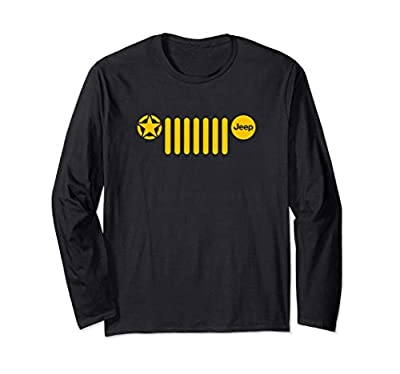 Jeep 7-Slot Grille with Star Long Sleeve T-Shirt