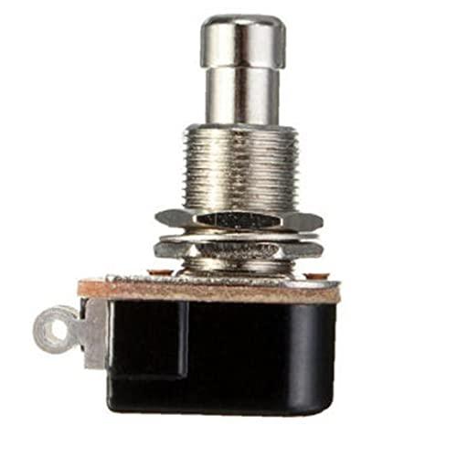Efectos de guitarra pedal Botones PBS-24B-4 momentáneo interruptor de pedal del pie Botón Guitarra Accesorios Accesorios Equipo Industrial Negro