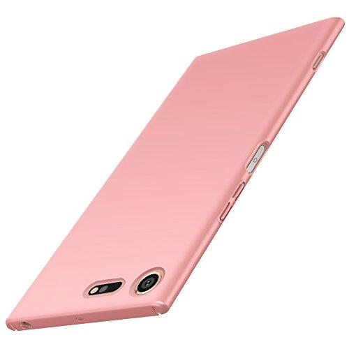 Anccer Funda Sony Xperia XZ Premium [Serie Colorida] [Ultra-Delgado] [Ligera] Anti-rasguños Estuche para Case Sony Xperia XZ Premium (Oro Rosa Liso)