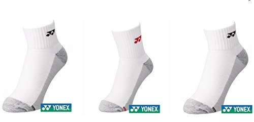 YONEX Niedrig geschnittene Socken (3 Paar) 19157 sortiert (sortiert, S 22–25 cm)