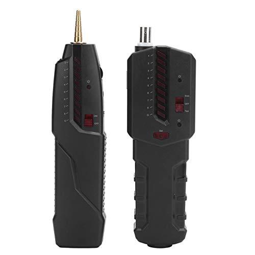 gostcai Localizador de línea de Alta precisión, Comprobador de Cables de Red LAN, Soporte para Cable RJ45 RJ11 / Cable de Red 4P 8P / Cable telefónico/Cable BNC/Cable único/Fibra óptica.