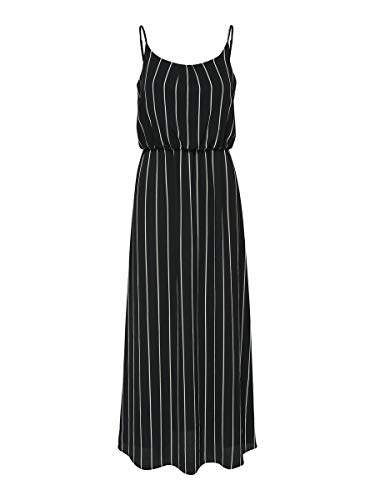 ONLY Damen Maxikleid Ärmelloses 36Black 2