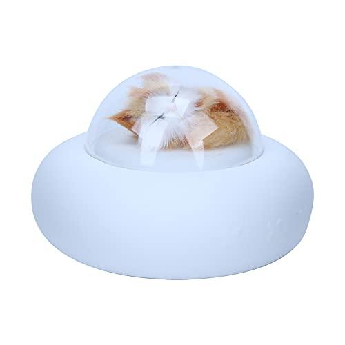 Tnfeeon Luz Nocturna de Silicona, luz Nocturna Recargable para Animales, lámpara portátil para Animales, Luces Que cambian de Color con Control táctil, decoración de la habitación(Gato)