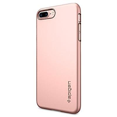 Spigen Thin Fit iPhone 8 Plus / iPhone 7 Plus Case with Premium Hard PC and Slim Fit for Apple iPhone 8 Plus (2017) / iPhone 7 Plus (2016)