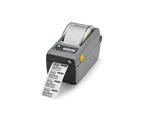Zebra ZD410, 12 Punkte/mm (300dpi), VS, RTC, EPLII, ZPLII, USB, BT (iOS), WLAN, dunkelgrau