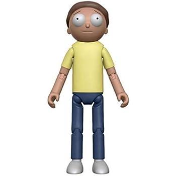"""Rick /& Morty Morty 5/"""" articulé articulées Vinyl figurine de collection modèle"""