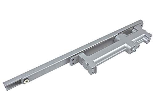 NHN1628U-M Concealed Door Closer, Non-Handed, Heavy-Duty, Up to 88lbs. Doors, Dual Speed Control, Invisible Door Closer