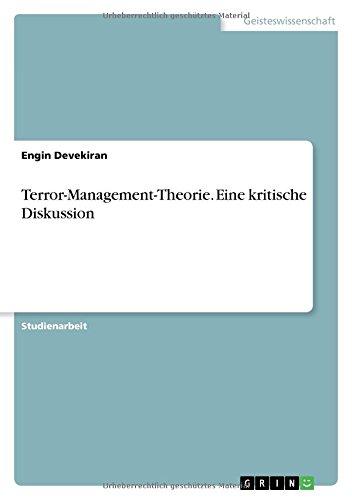 Terror-Management-Theorie. Eine kritische Diskussion