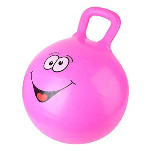 Homoyoyo Bola de La Tolva Bola Hinchable con Asas Bola de Equilibrio Y Silla de Bola para Niños Juguete de Interior Y Exterior Rosy