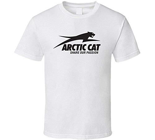 T Shirts Arctic Cat ATV Extreme Snow T Shirt L White