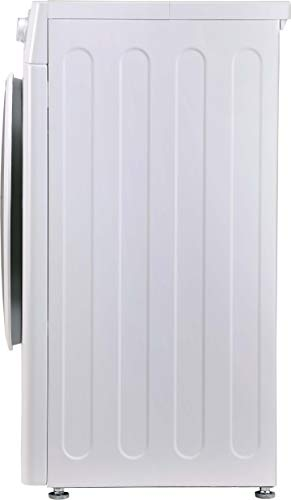 LG 6.0 Kg 5 Star Inverter Fully-Automatic Front Loading Washing Machine (FHT1006ZNW, White, 6 Motion Direct Drive)