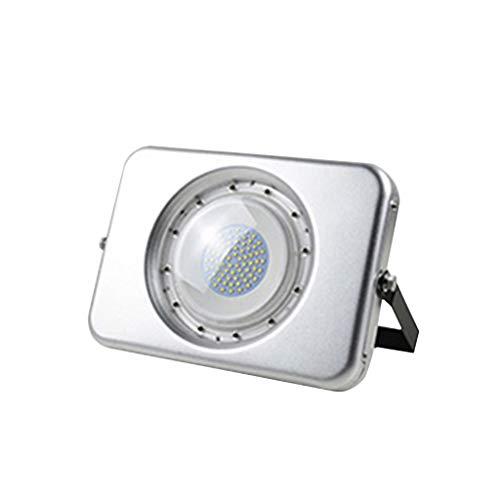 Led-schijnwerper, 50 W, veiligheidslamp, koplamp, buiten, waterdicht, geschikt voor bedrijf, deuropening, pocketwand, teken, deurkop, verlichting 50W Positief wit licht.