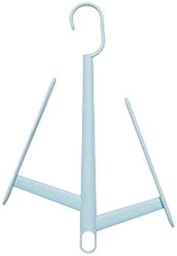 Shurong zapatero multifuncional, se puede superponer para secar el zapatero, fuerte capacidad de rodamiento, zapatero para balcón, utilizado para zapatos de tela, zapatillas, zapatillas (azul)
