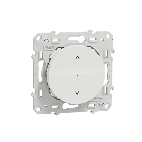 Schneider Electric S520567W - Persiana enrollable, color blanco