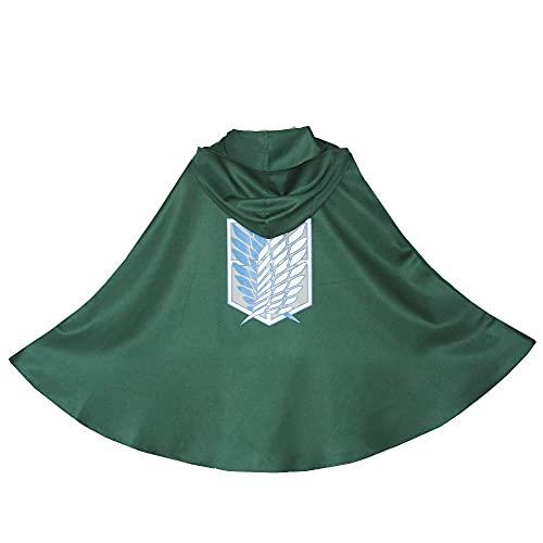 ヤクニタツ attack on titan cosplay coat hoodie blanket cloak for gifts