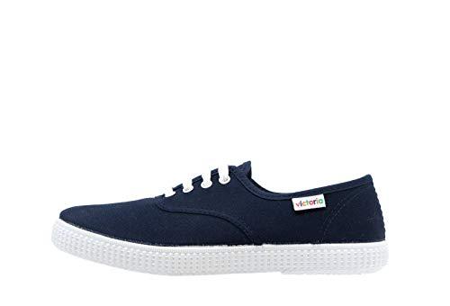 Victoria Inglesa Lona 6613, Zapatillas de Tela Unisex, Azul (Marino), 38