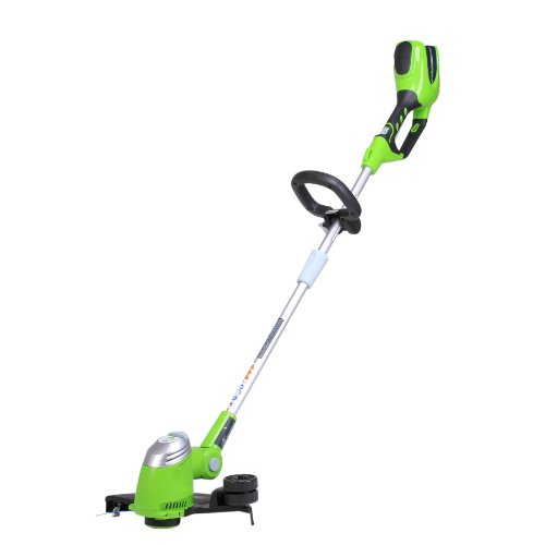 in budget affordable Greenworks Cordless Thread Trimmer 13 inch 40V Battery Not Included 21332