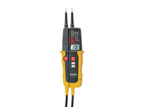 PAN - Tester di tensione con LED e display LCD, 1000 V