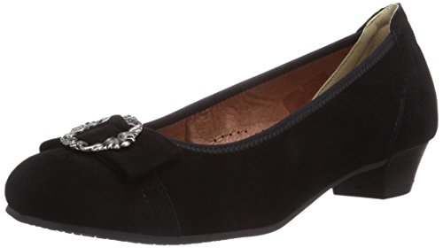 Hirschkogel by Andrea Conti 3009220, Damen Pumps, Schwarz (002), 41 EU