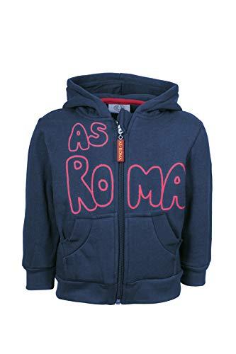 AS Roma Baby-Jungen AS Rom Unisex Kapuzenpullover, Blau, 9 Monate