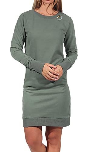 Ragwear Damen Kleid MENITA Organic 2121-20036 Olive 5031 Khaki, Größe:S