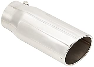 Slant Bolt-On Exhaust Tip Superior 28-6202 3 x 7 Stainless Steel