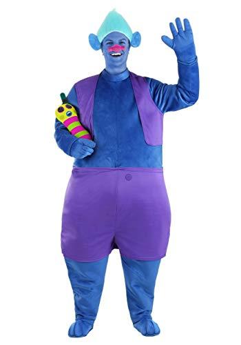 Disfraz de Trolls Biggie para adultos